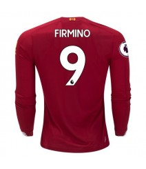 Roberto Firmino Liverpool 19/20 Long Sleeve Home Jersey by New Balance