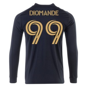 Adama Diomande LAFC 2020 Long Sleeve Home Jersey by adidas