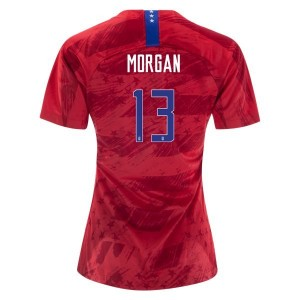 Alex Morgan USWNT 2019 4-star Away Jersey by Nike