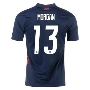 Alex Morgan USWNT 2020 Men's Away Jersey by Nike