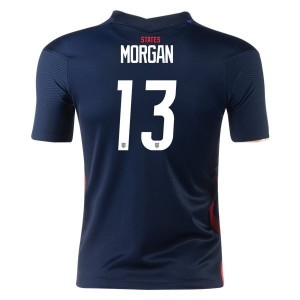 Alex Morgan USWNT 2020 Youth Away Jersey by Nike