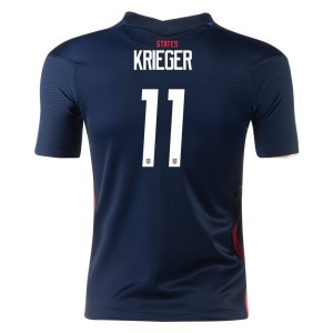 Ali Krieger USWNT 2020 Youth Away Jersey by Nike