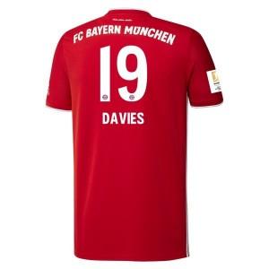 Alphonso Davies Bayern Munich 2020/21 Home Jersey by adidas