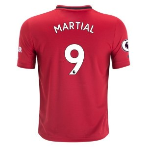 Anthony Martial Manchester United 19/20 Youth Home Jersey by adidas