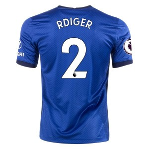 Antonio Rüdiger Chelsea 20/21 Home Jersey by Nike