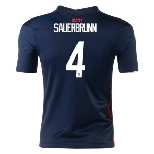 Becky Sauernbrunn USWNT 2020 Youth Away Jersey by Nike