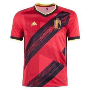Belgium Euro 2020 Youth Home Jersey by adidas