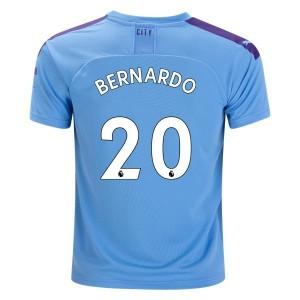 Bernardo Silva Manchester City 19/20 Home Jersey by PUMA
