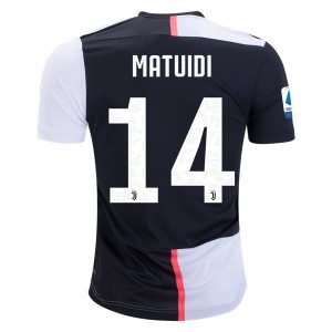 Blaise Matuidi Juventus 19/20 Authentic Home Jersey by adidas