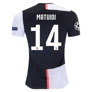 Blaise Matuidi Juventus 19/20 UCL Home Jersey by adidas