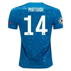 Blaise Matuidi Juventus 19/20 UCL Third Jersey by adidas