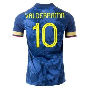 Carlos Valderrama Colombia 2020 Away Jersey by adidas