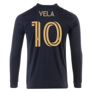 Carlos Vela LAFC 2020 Long Sleeve Home Jersey by adidas
