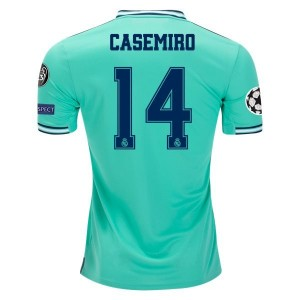 Casemiro Real Madrid 19/20 UCL Third Jersey by adidas