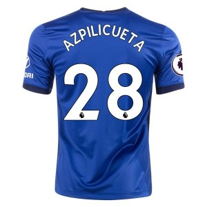 Cesar Azpilicueta Chelsea 20/21 Home Jersey by Nike
