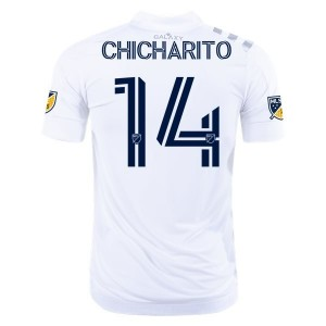 Chicharito Hernández LA Galaxy 2020 Authentic Home Jersey by adidas
