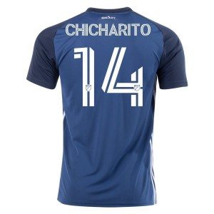 Chicharito Hernández LA Galaxy 2020 Away Jersey by adidas