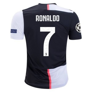 Cristiano Ronaldo Juventus 19/20 Authentic UCL Home Jersey by adidas