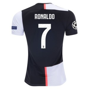 Cristiano Ronaldo Juventus 19/20 UCL Home Jersey by adidas