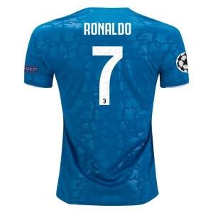 Cristiano Ronaldo Juventus 19/20 UCL Third Jersey by adidas