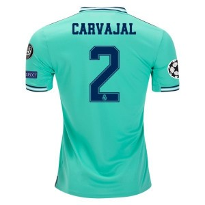 Dani Carvajal Real Madrid 19/20 UCL Third Jersey by adidas