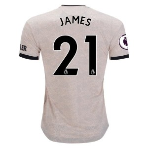 Daniel James Manchester United 19/20 Authentic Away Jersey by adidas