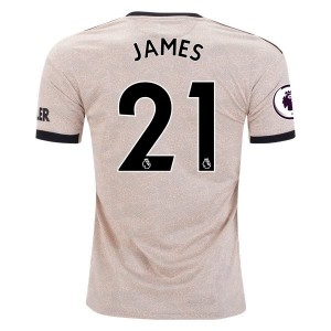 Daniel James Manchester United 19/20 Away Jersey by adidas