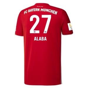 David Alaba Bayern Munich 2020/21 Home Jersey by adidas