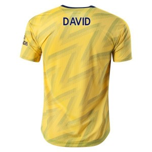 David Luiz Arsenal 19/20 Authentic Away Jersey by adidas