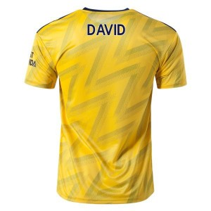 David Luiz Arsenal 19/20 Away Jersey by adidas