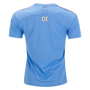 De Bruyne Manchester City 19/20 Authentic Home Jersey by PUMA