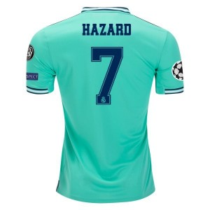 Eden Hazard Real Madrid 19/20 UCL Third Jersey by adidas