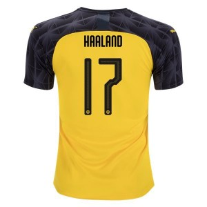 Erling Haaland Borussia Dortmund 19/20 Cup/Third Jersey by PUMA