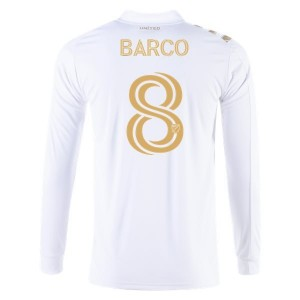 Ezequiel Barco Atlanta United 2020 Long Sleeve Away Jersey by adidas