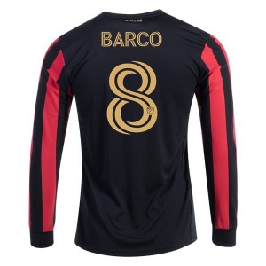 Ezequiel Barco Atlanta United 2020 Long Sleeve Home Jersey by adidas