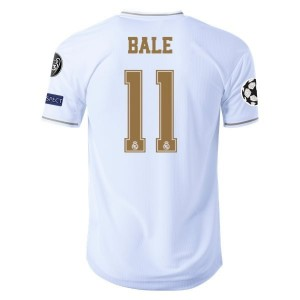 Gareth Bale Real Madrid 19/20 Authentic UCL Home Jersey by adidas