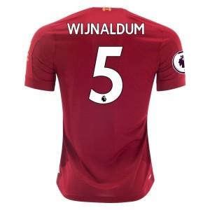 Georginio Wijnaldum Liverpool 19/20 Home Jersey by New Balance