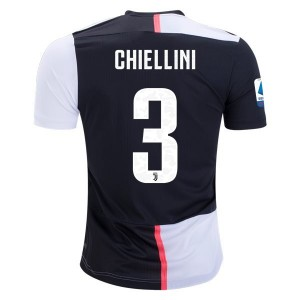 Giorgio Chiellini Juventus 19/20 Authentic Home Jersey by adidas