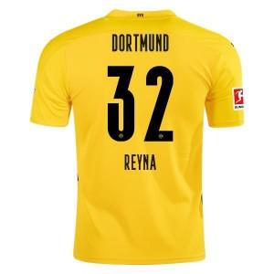 Giovanni Reyna Borussia Dortmund 2020/21 Home Jersey by PUMA