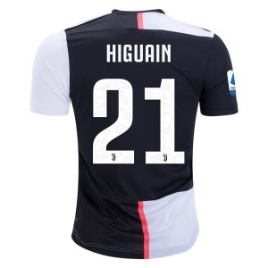 Gonzalo Higuain Juventus 19/20 Authentic Home Jersey by adidas