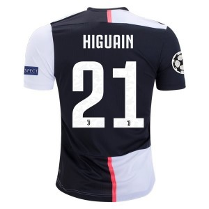 Gonzalo Higuain Juventus 19/20 Authentic UCL Home Jersey by adidas