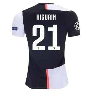 Gonzalo Higuain Juventus 19/20 UCL Home Jersey by adidas