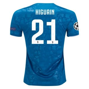 Gonzalo Higuain Juventus 19/20 UCL Third Jersey by adidas