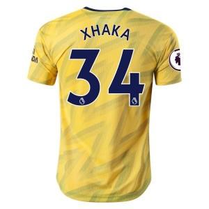 Granit Xhaka Arsenal 19/20 Authentic Away Jersey by adidas