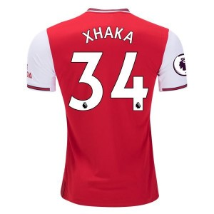 Granit Xhaka Arsenal 19/20 Authentic Home Jersey by adidas