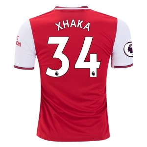 Granit Xhaka Arsenal 19/20 Home Jersey by adidas