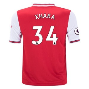 Granit Xhaka Arsenal 19/20 Youth Home Jersey by adidas