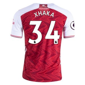 Granit Xhaka Arsenal 20/21 Authentic Home Jersey by adidas