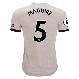 Harry Maguire Manchester United 19/20 Authentic Away Jersey by adidas