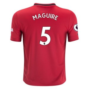 Harry Maguire Manchester United 19/20 Youth Home Jersey by adidas